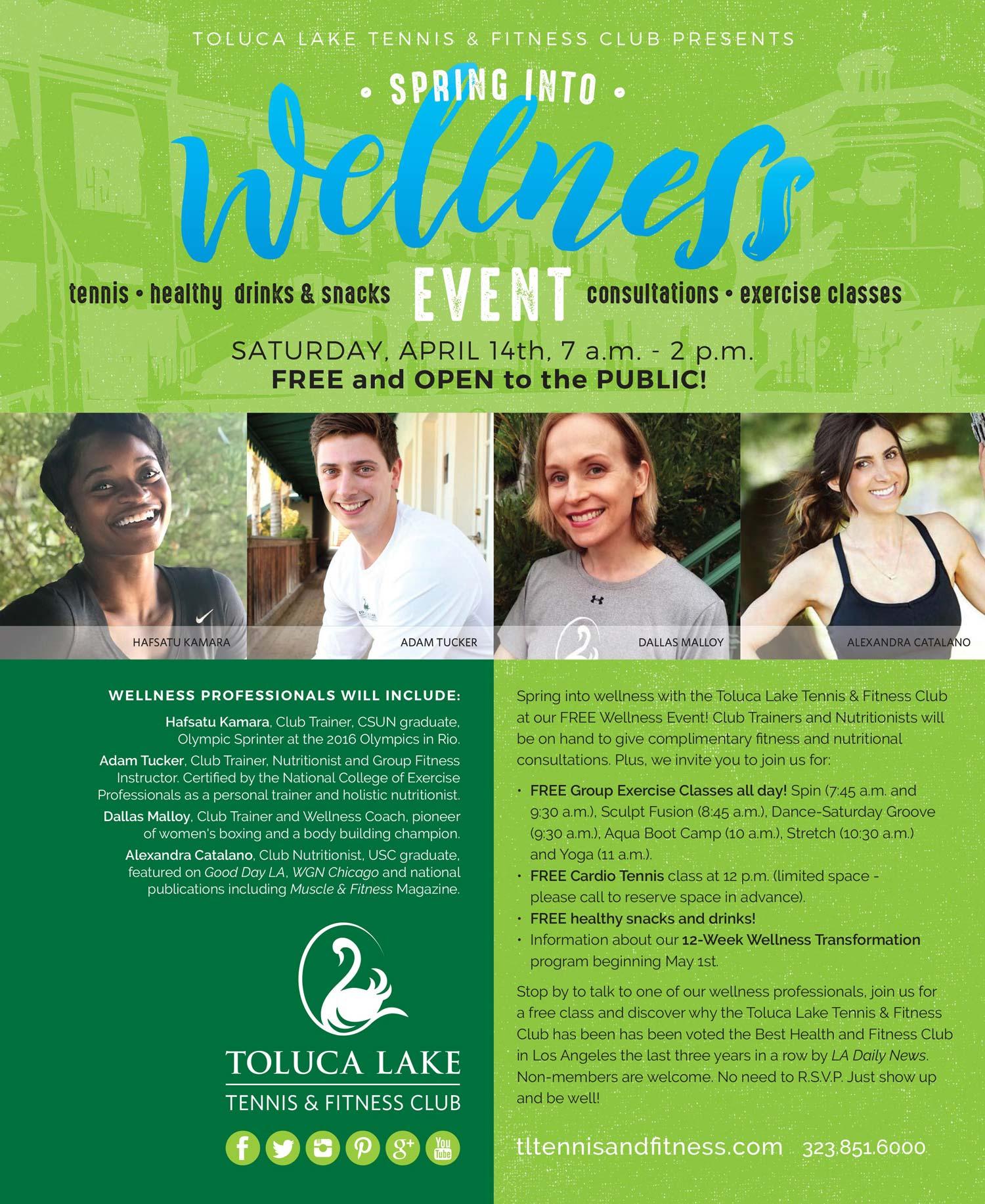 TLTC spring event