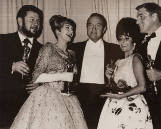 Award Winners from the 33rd Academy Awards ceremony in 1961