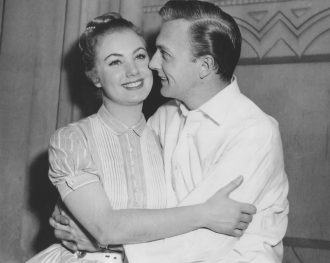 Shirley Jones and Jack Cassidy