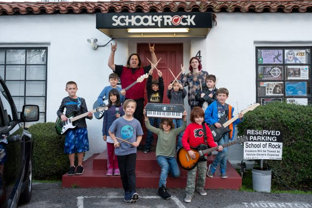 School of Rock Teaches the Universal Language of Music