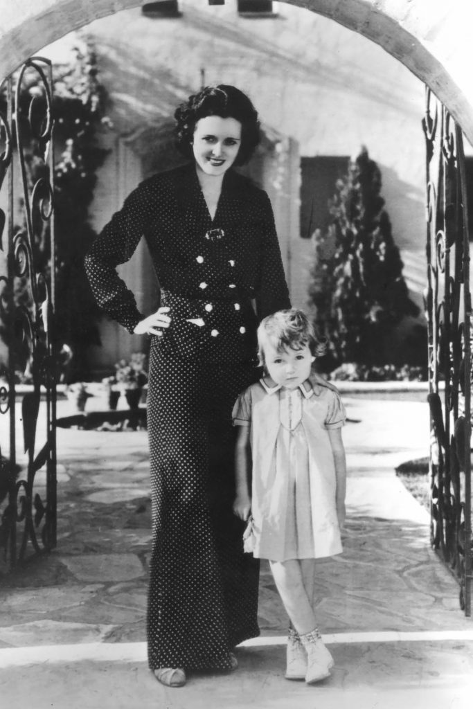 Mary Astor and Daughter