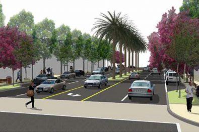 Riverside Drive Streetscape
